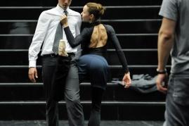 Miriam Kacerova bei einer Probe zu Salome