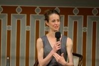 Bridget Breiner bei der Gesprächsrunde Next Generation, Foto: Stuttgarter Ballett