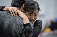 Hyo-Jung Kang und Constantine Allen bei der Probe